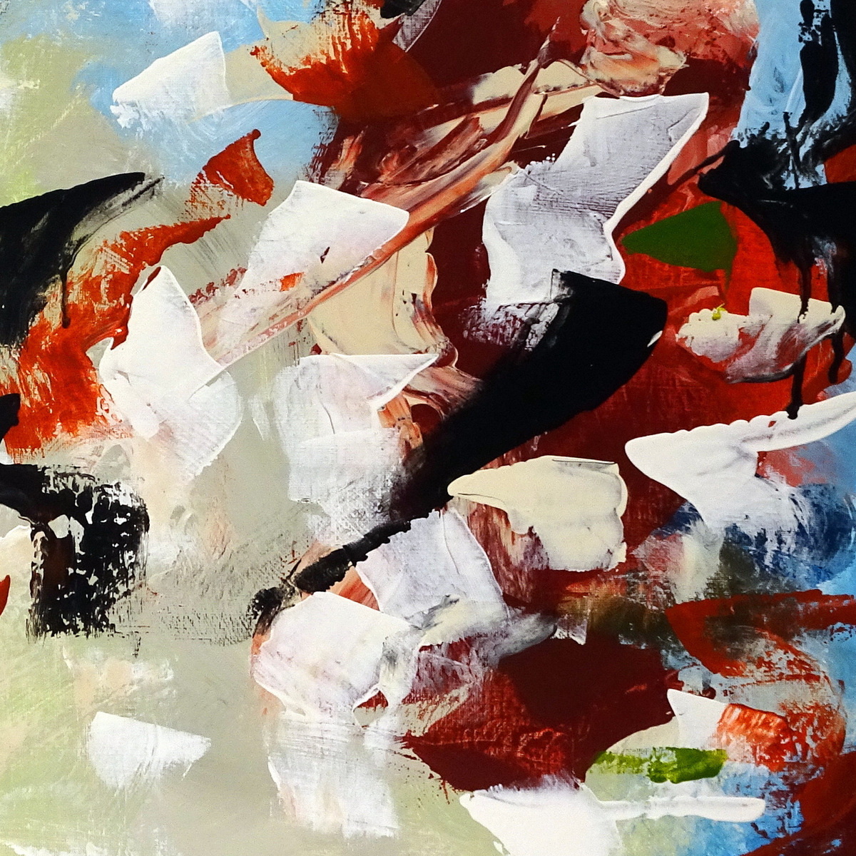 Abstract Expressionist Paintings, Bill Boyd, Black Mountain, NC-016.JPG