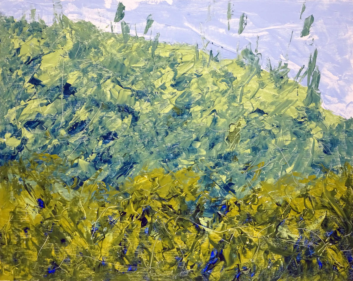 Abstract Expressionist Paintings, Bill Boyd, Black Mountain, NC-012.JPG