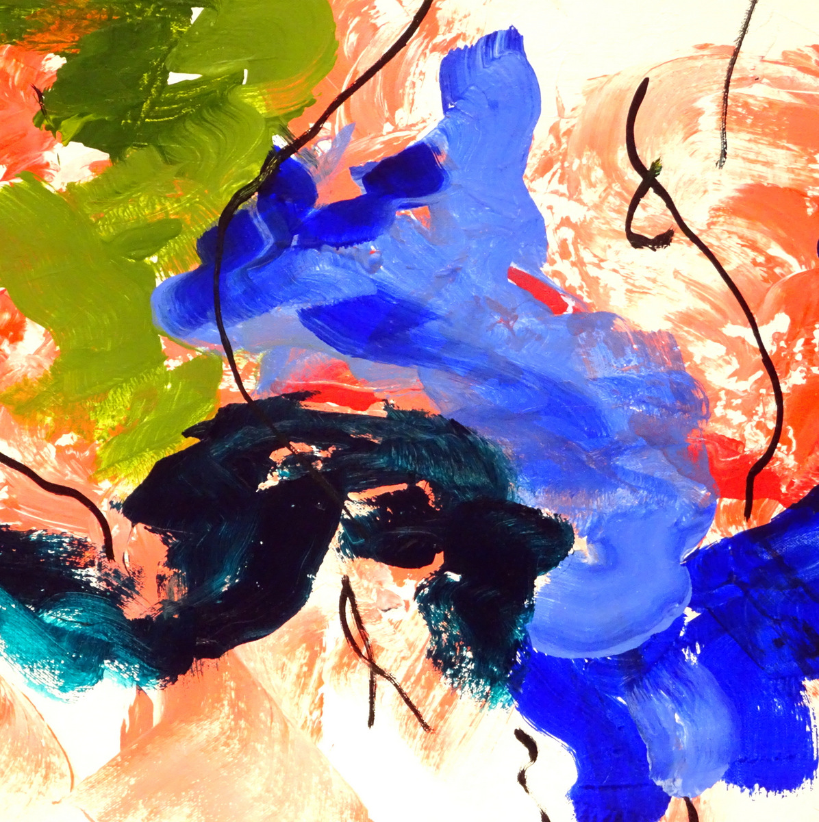 Abstract Expressionist Paintings, Bill Boyd, Black Mountain, NC-010.JPG