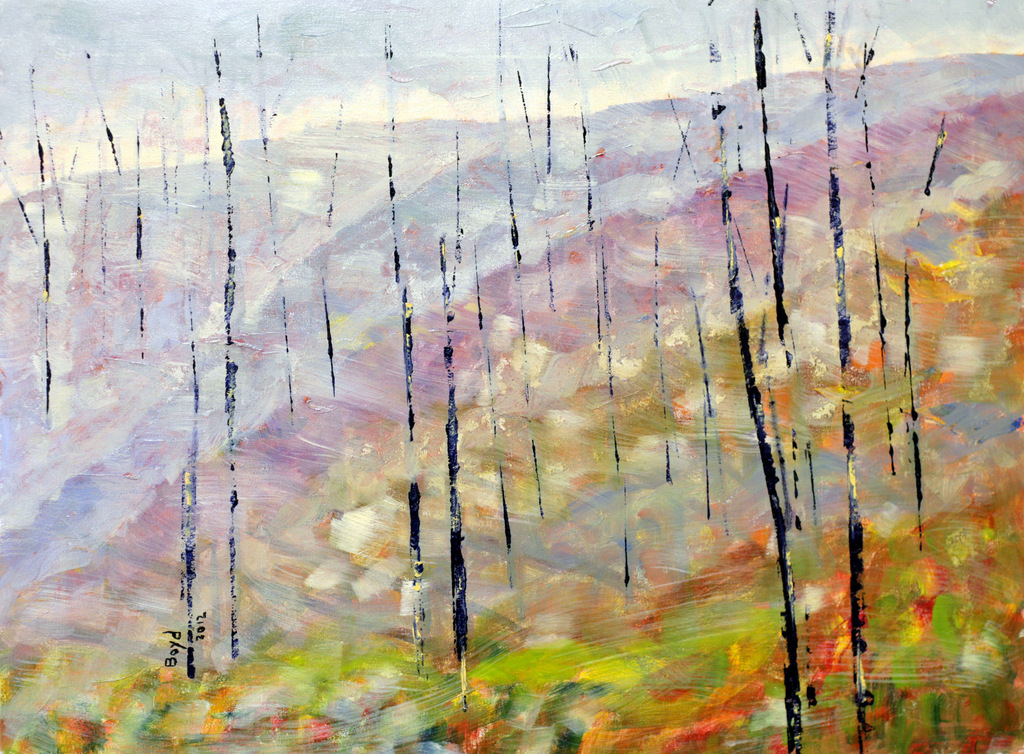 Abstract Expressionist Paintings, Contemporary Art, Asheville NC, Bill Boyd-014.JPG