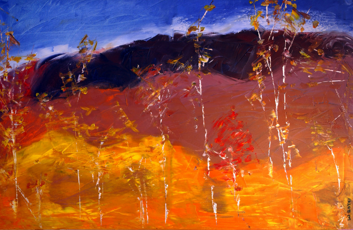 Abstract Expressionist Paintings, Contemporary Art, Asheville NC, Bill Boyd-017.JPG