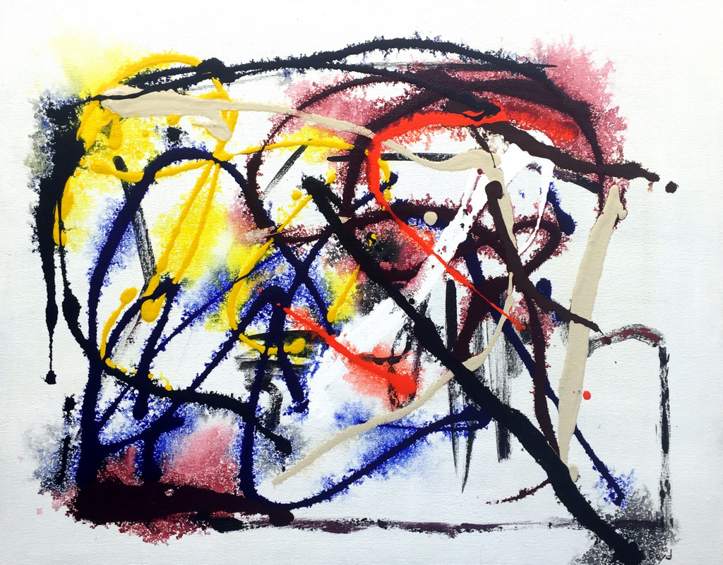Abstract Expressionist Paintings, Contemporary Art, Asheville NC, Bill Boyd-019.JPG