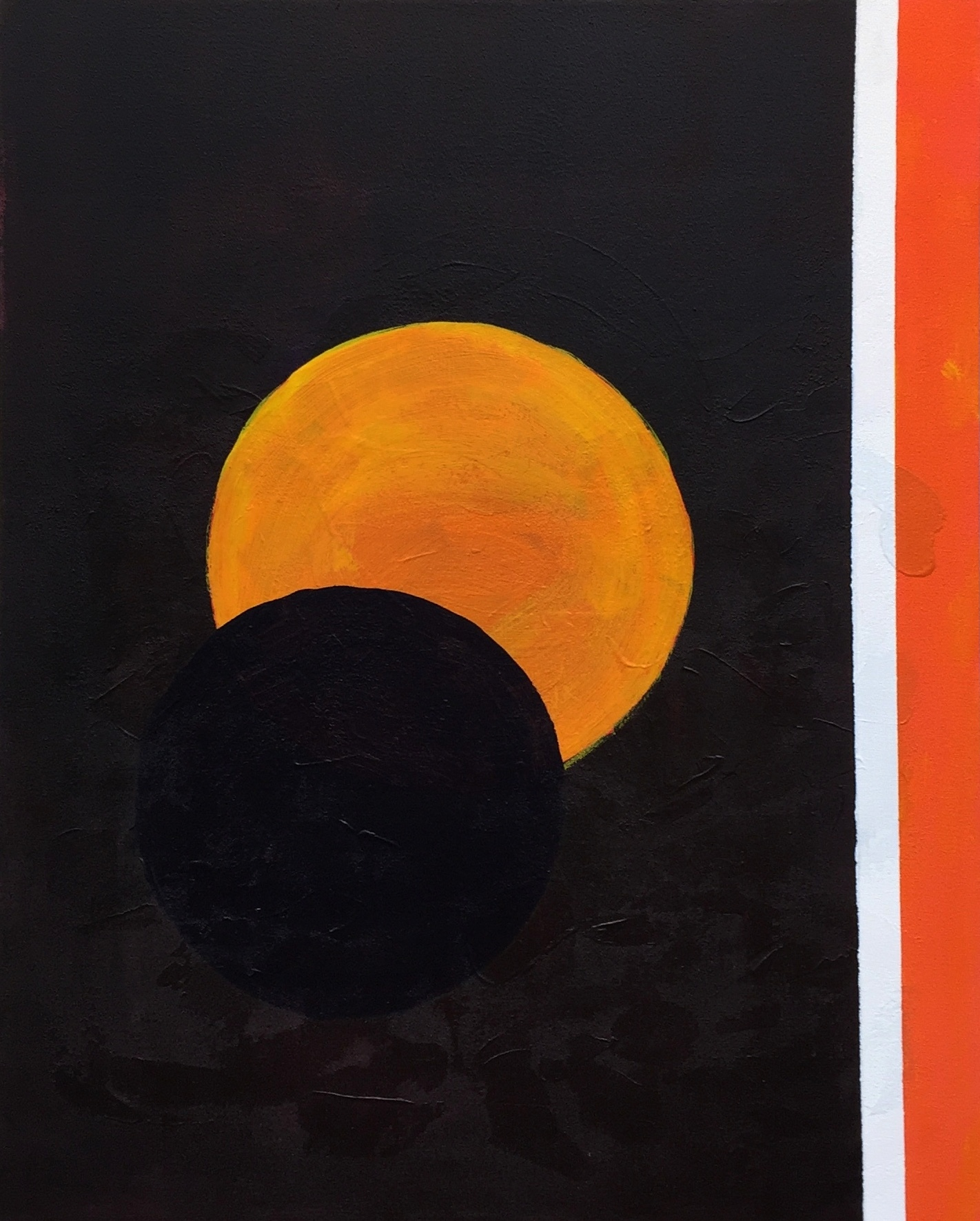"""""""ECLIPSE I"""",  Oil on Canvas,  24x30 inches"""