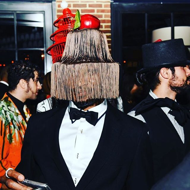 So THIS is how you dress for The Surrealist Ball.... Expect our September party to be suited and booted, with a heavy dose of the bizarre. And there's a handsome prize for the best outfit - so get your thinking hats (🤭)on...#ohheymrsocial • • • • • • • • • #rockwell #thesurrealistball #gayuk #gaylondon #mrsocial #privateparty #londonmembersclub#londonparties #londonbars #londoncocktailbars #instagay