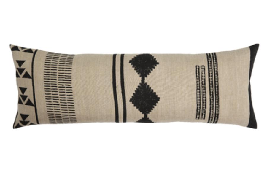 Eliora Lumbar Pillow, Natural