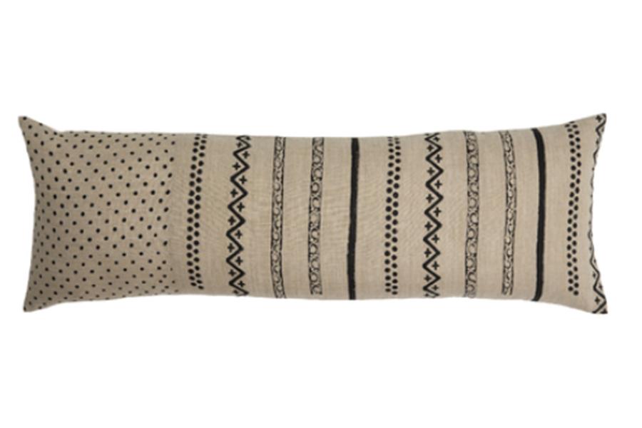 Cordy Lumbar Pillow, Natural