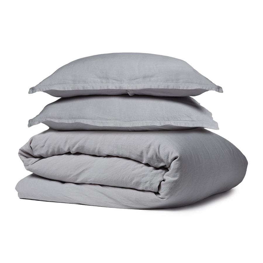 Parachute Grey Linen Bedding