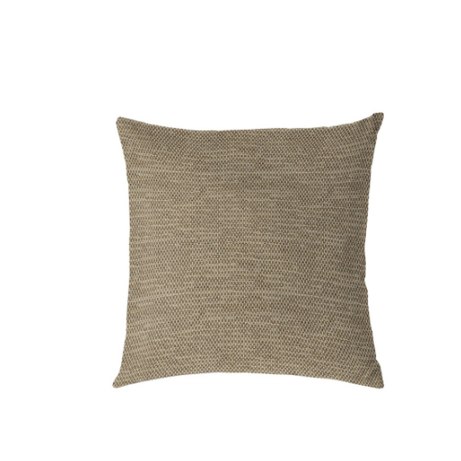 Sunbrella Outdoor Toss Pillow - Mainstreet Latte   * Other shapes available