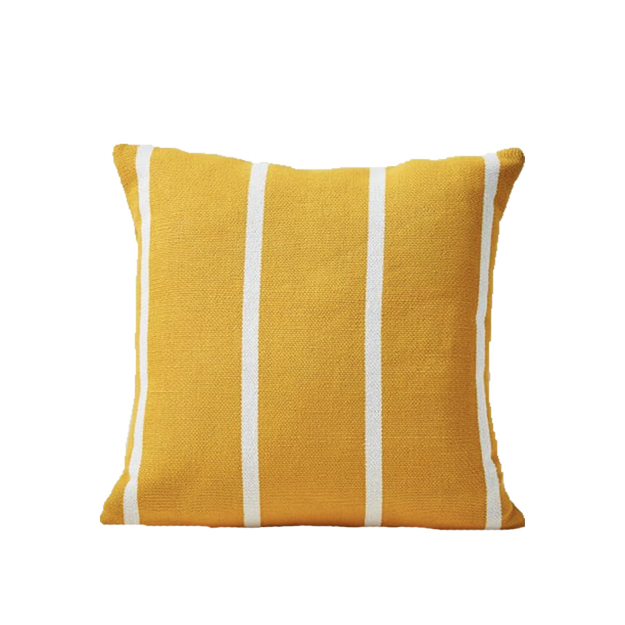 Outdoor Simple Stripe Pillow - Cardamom