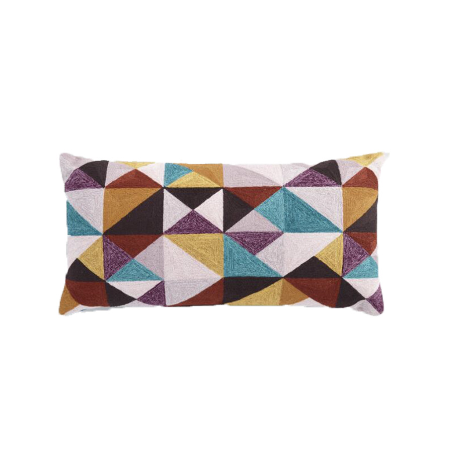 Oversized Geometric Triangles Outdoor Lumbar