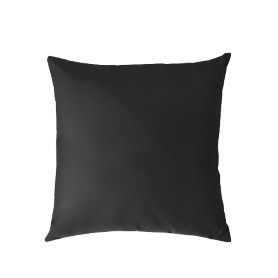 Sunbrella Outdoor Toss Pillow - Black   * Other shapes available