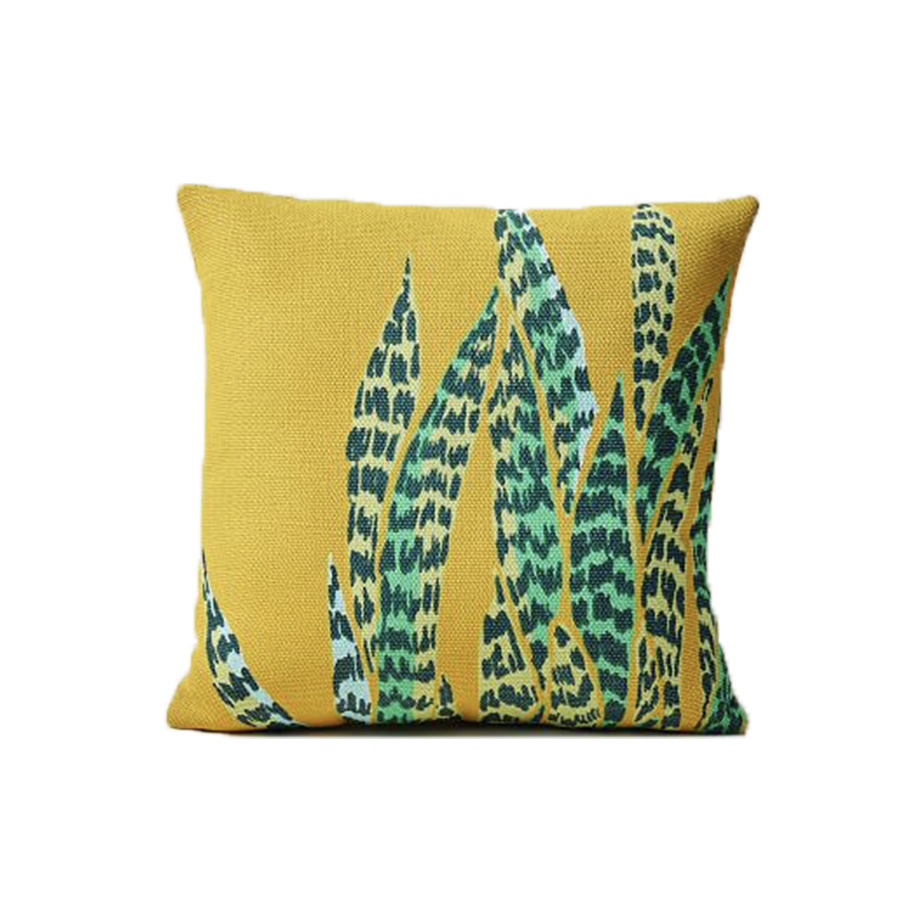 Outdoor Snake Plant Pillow