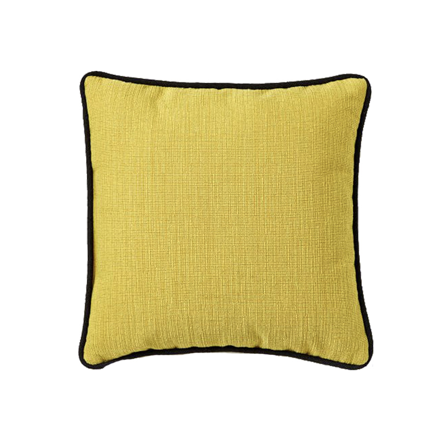 Outdoor Contrast Trim Pillows