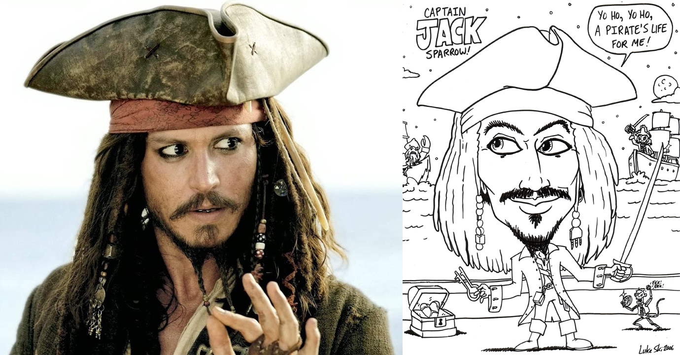 X Captain Jack Sparrow with caricature.png