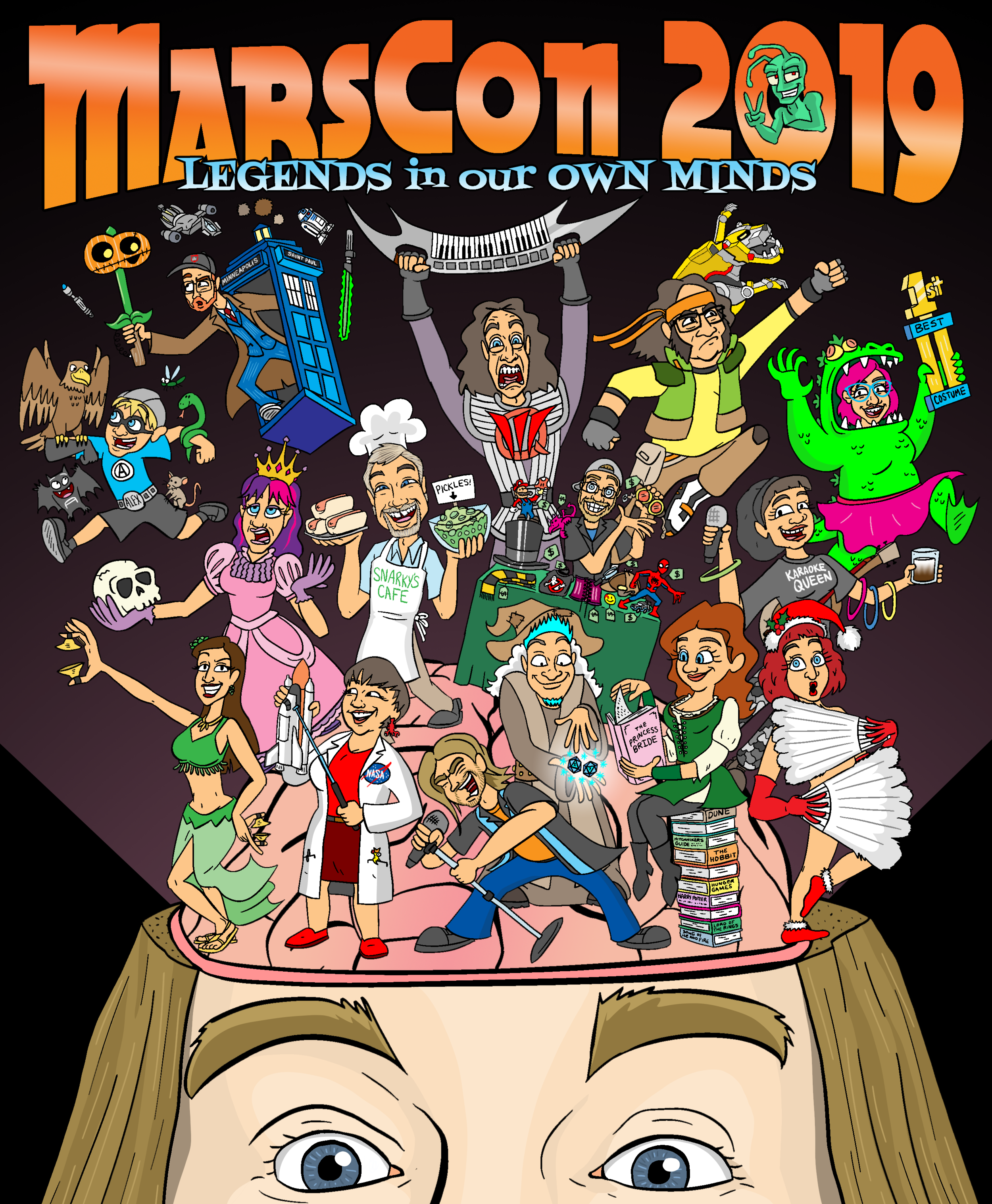 17 MarsCon Legends In Our Own Mind T-shirt design 2019.png