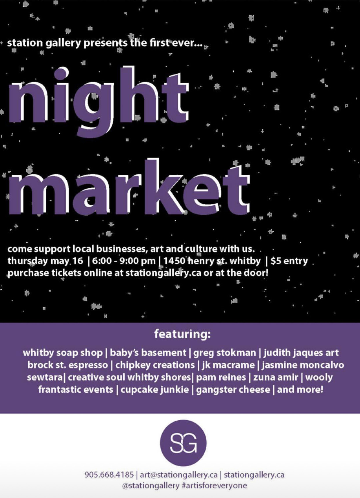 station gallery night market // whitby