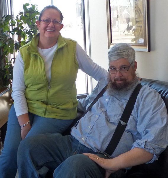 Meg Freeman and Phil Lariviere owners of Penelope's Consignment Home Furnishings since April 1, 2011.