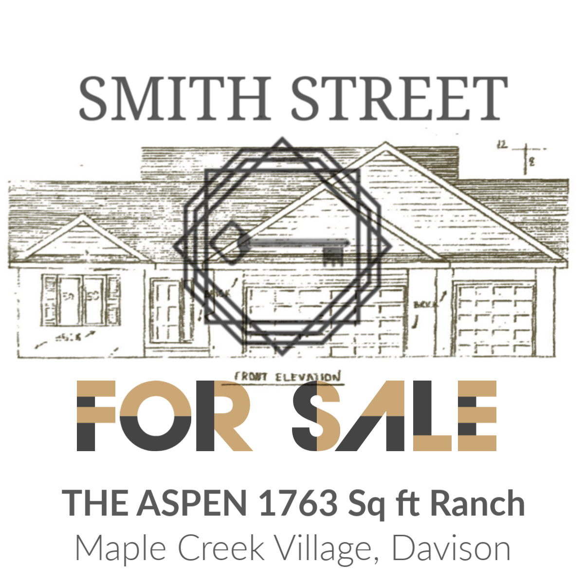 THE ASPEN - 1763 Square Foot Ranch