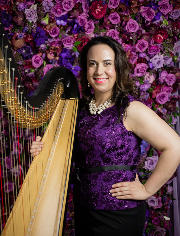 Nadia Pessoa, Harpist for Weddings & Special Events  @nadiapessoaharp