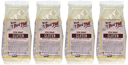 - Vital wheat gluten
