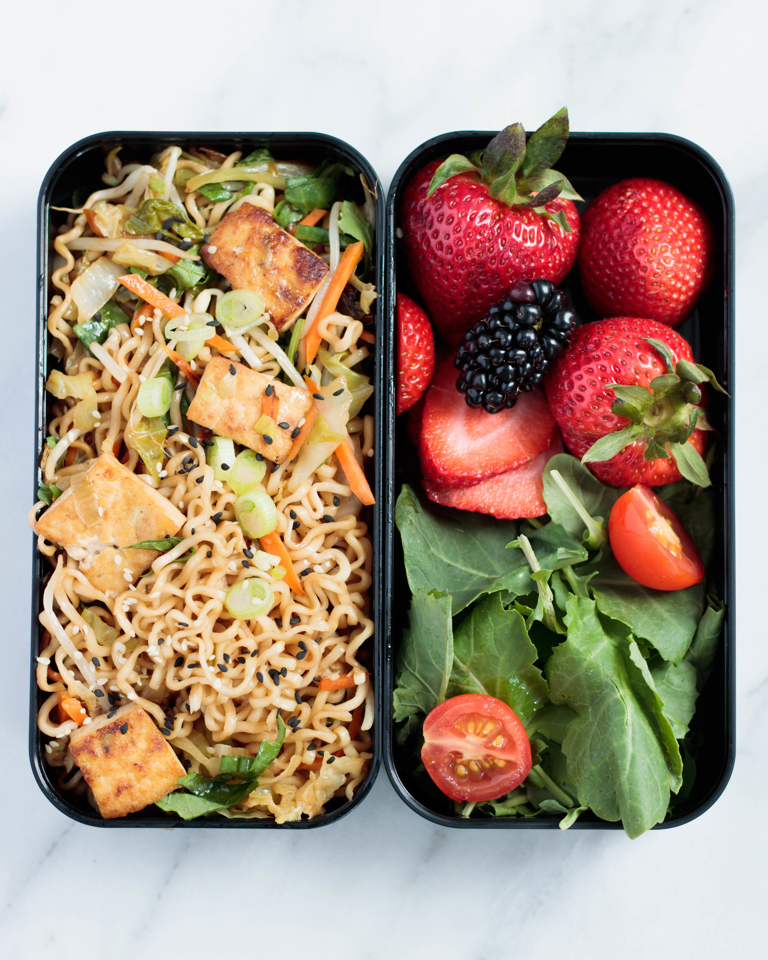 Bonus tip: Bento boxes are great for taking food on the go!