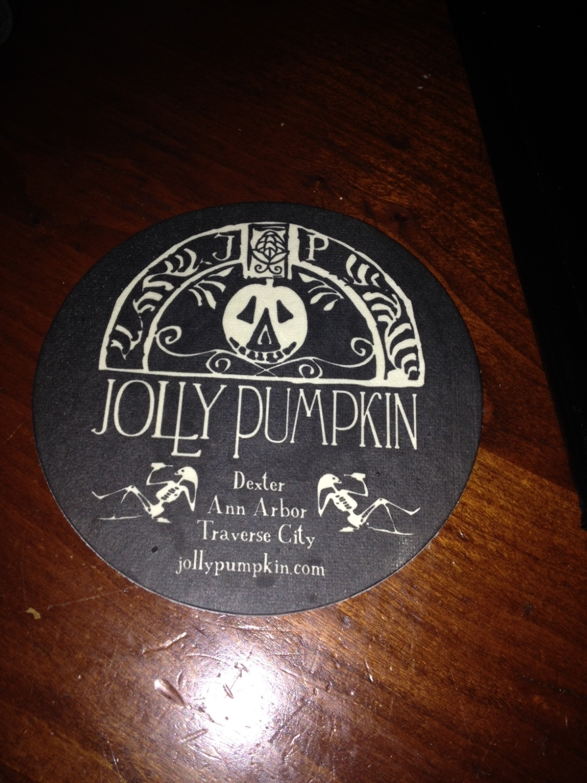 Group Dinner @ The Jolly Pumpkin!
