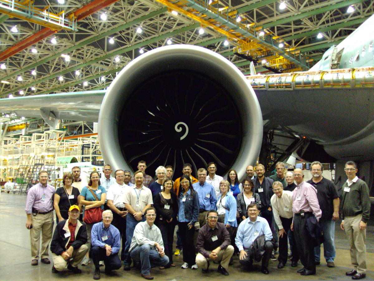 VIP Tour of Boeing Everett Facility