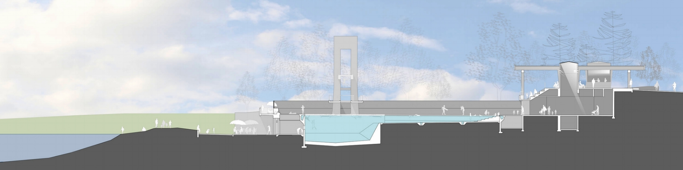 2nd Iteration: Outdoor Swimming Pool