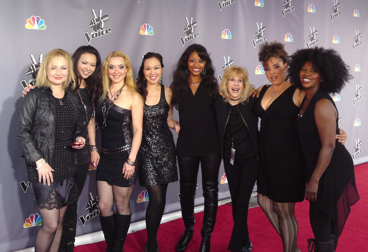 The Voice string Divas