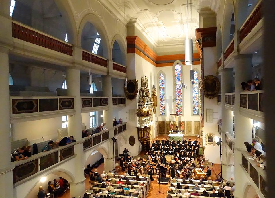 Concert at the Arnstadt Bachkirche