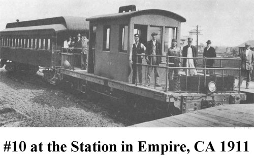 #10 at the Station in Empire, CA 1911