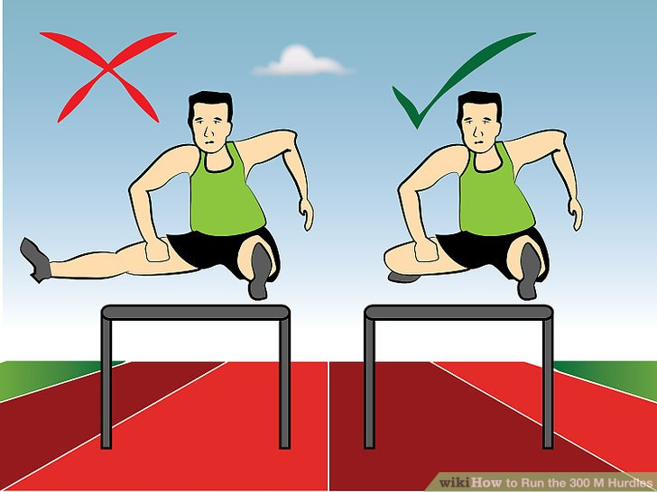 I am aware you know what hurdles look like. I included this image because it makes me laugh so much.