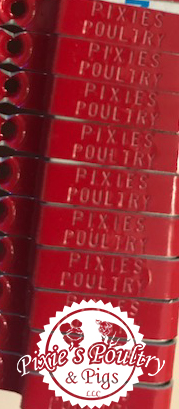 2018 Wing Bands for - Pixies Poultry & Pigs LLC