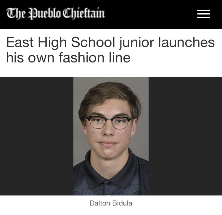 Published on January 10 2018, this article goes in depth about the designer Dalton Bidula's first line and the pushing power behind it. - CLICK IMAGE TO VIEW