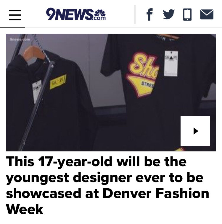 Going live on October 15th 2018, this live interview and online article gives a look into Shape Streetwear's Denver Fashion Week debut for Fall 2018. - CLICK IMAGE TO VIEW