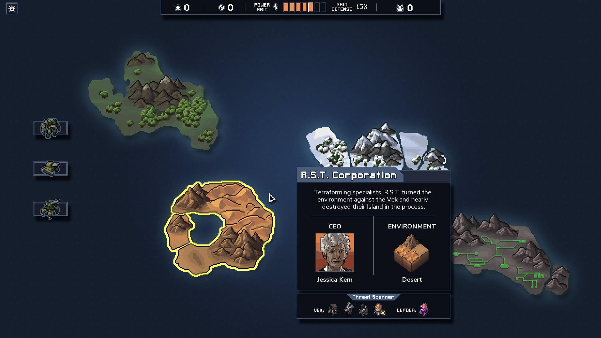 Into the Breach Map