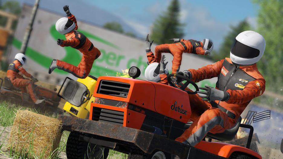 wreckfest lawnmower