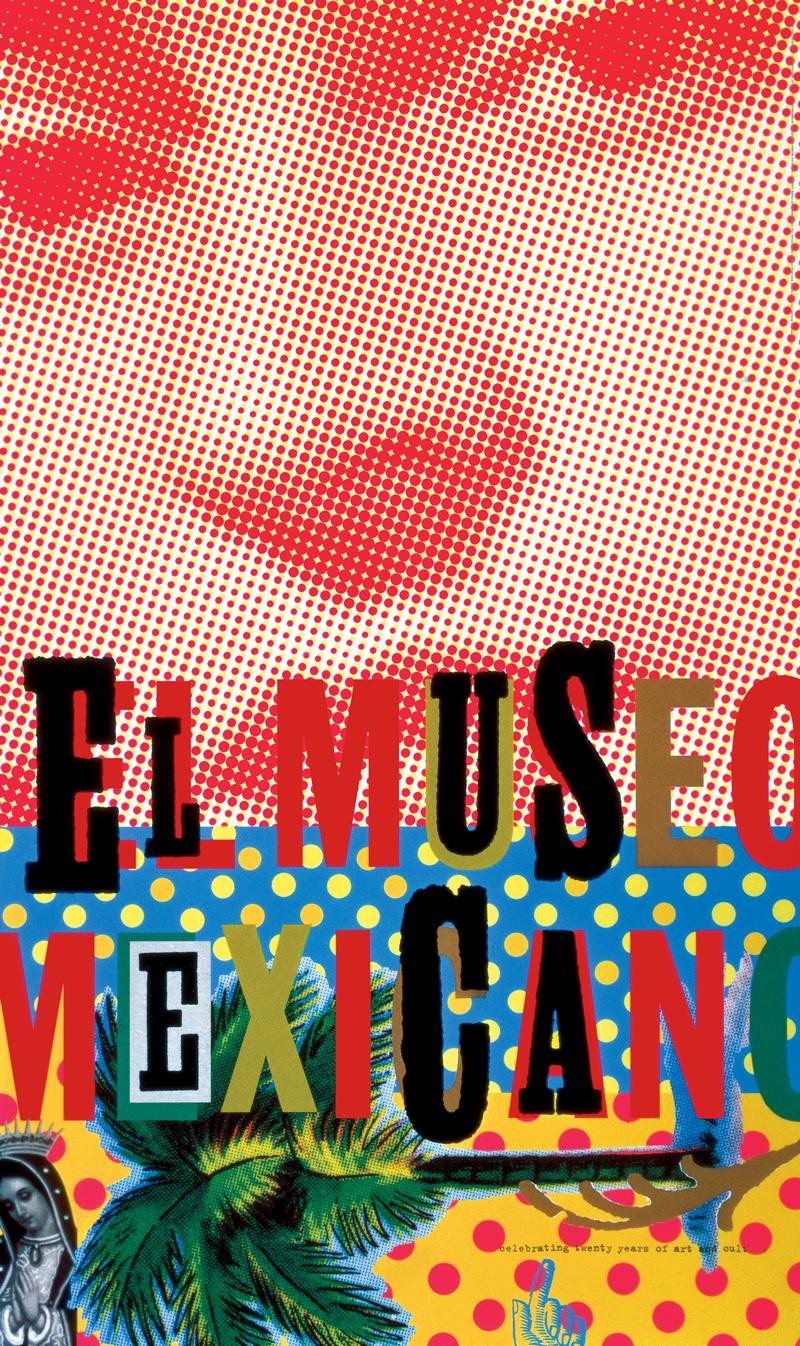 El Museo Mexicano - Morla Design ~ 1995Poster