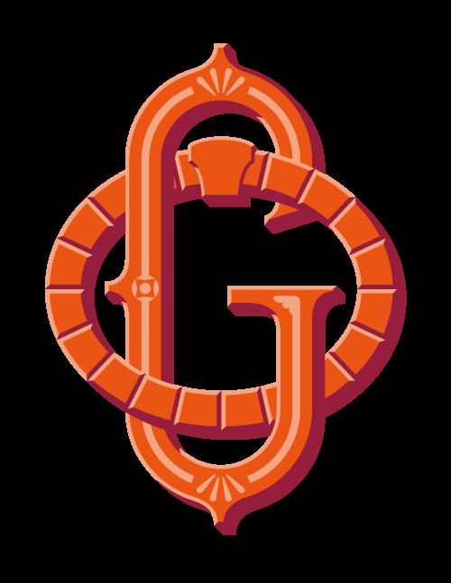 Old Goucher monogram