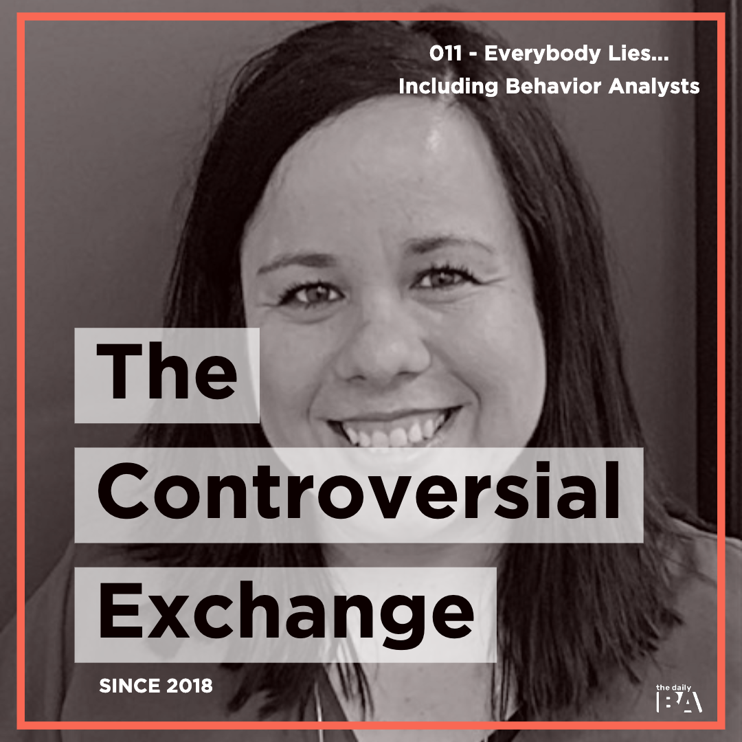 #011 Everybody Lies… Including Behavior Analysts! w/ Kathy Fox