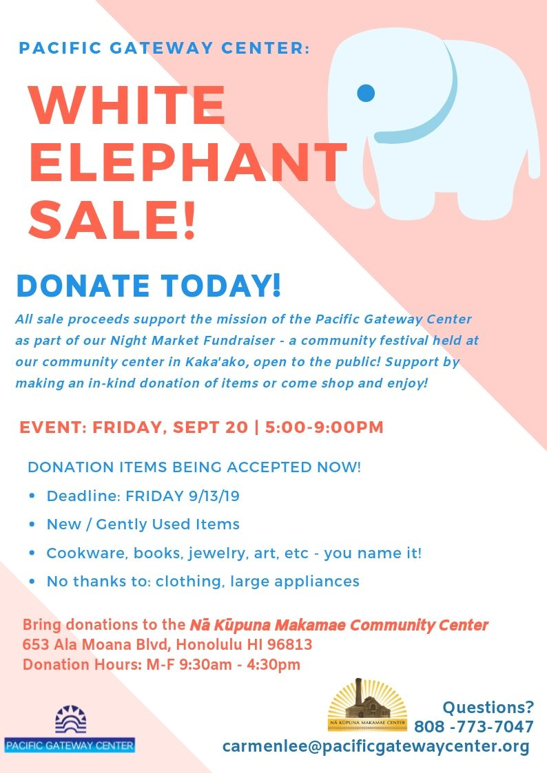 White Elephant Sale.jpg