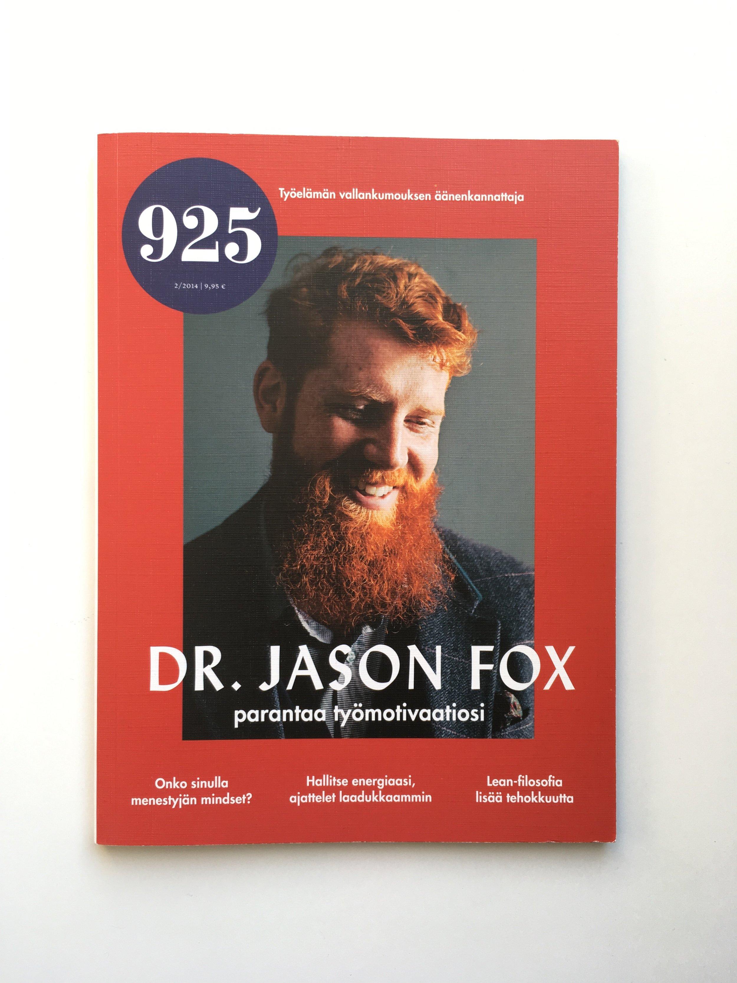 Dr Jason Fox motivational speaker and author