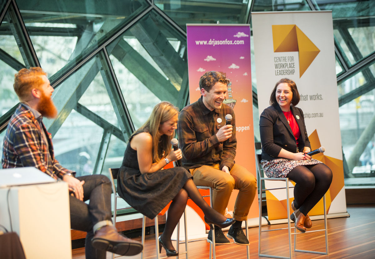 In 2015 Andy Fallshaw contributed to our panel at 'The Future of Leadership' fundraiser event.