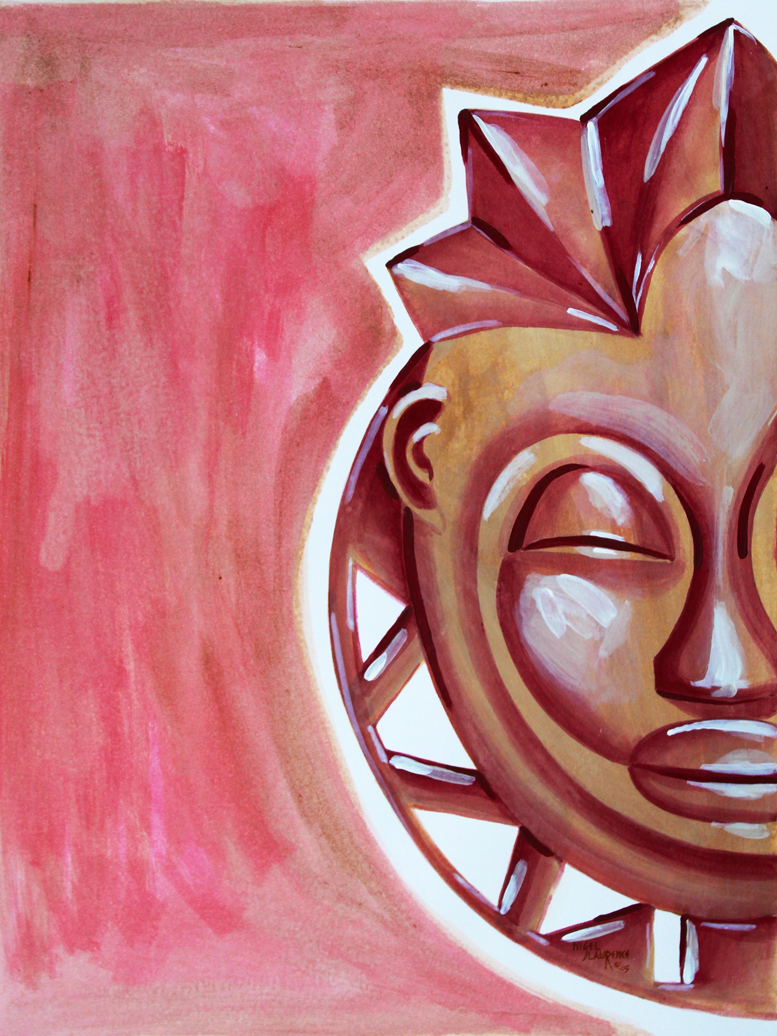 Unmasking II | Watercolor on Paper