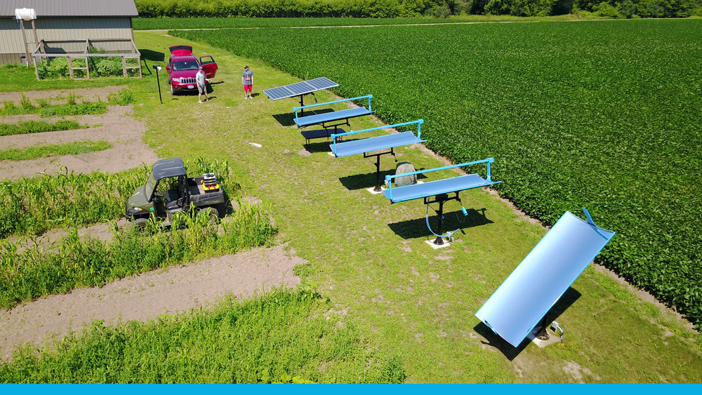 Above is a picture of our testing site in Somerset, Wisconsin.