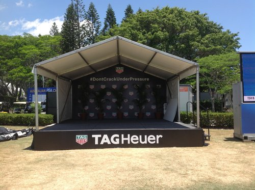 6 x 6m stage & marquee