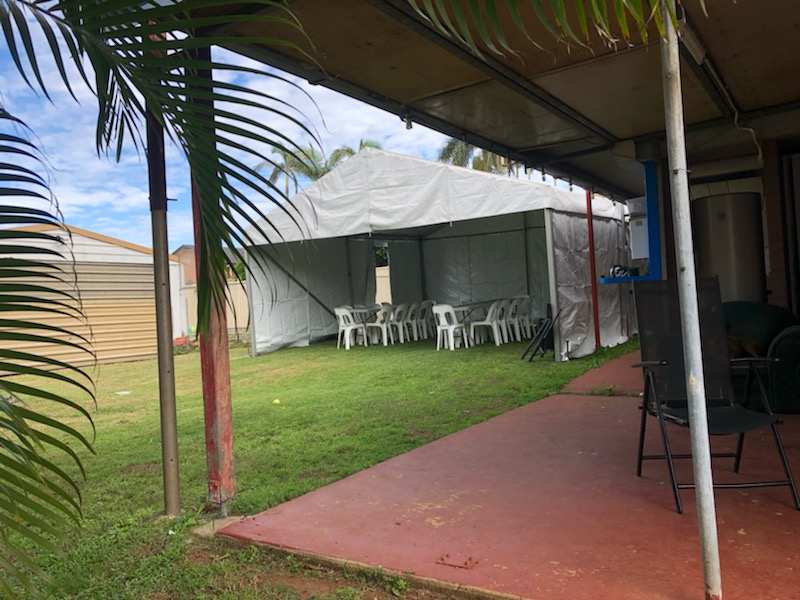 6 x 6m party marquee