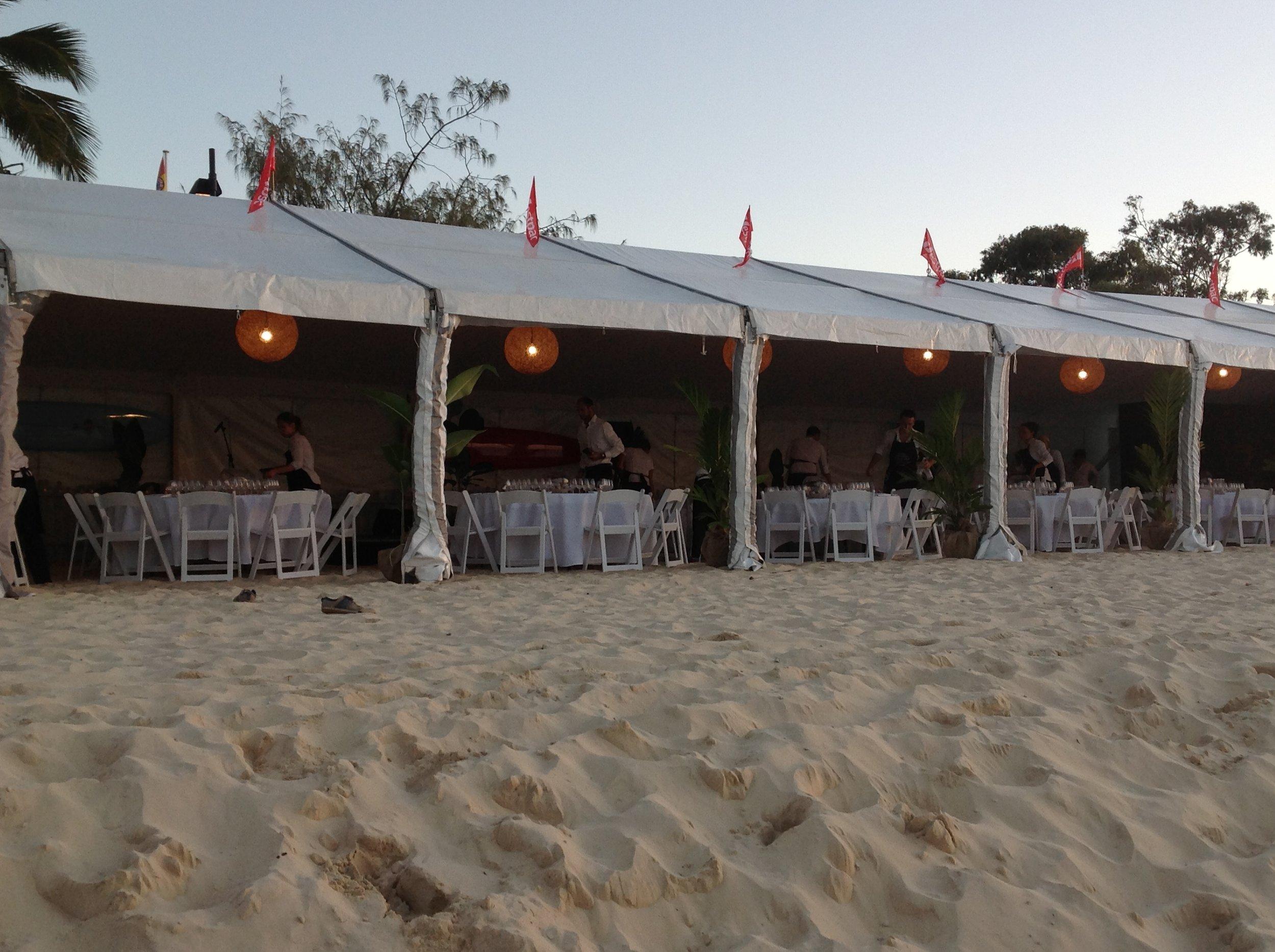 Beach Marquee