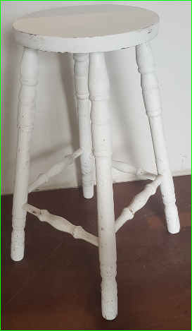 Shabby Chic Bar stool $6.60