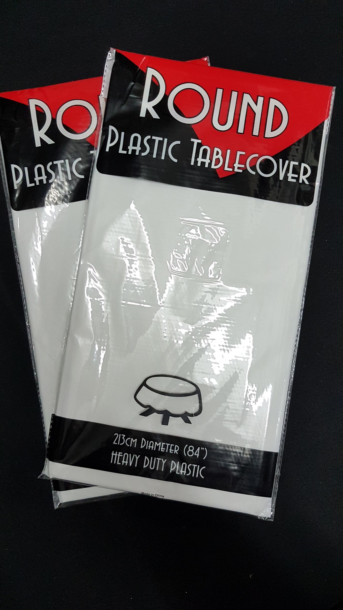 White table cloths $3.85